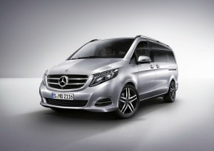 Die neue Mercedes-Benz V-Klasse, The new Mercedes-Benz V-Class